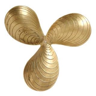 Brass Leaf Design Tray