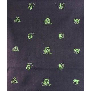 Chipp Irish Moygashel Safari Embroidery Linen Fabric - 2.7 Yards