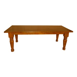 Chinese Pine Dining Table
