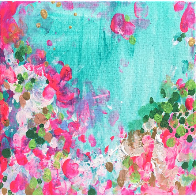 """""""May Garden"""" Original Abstract Painting - Image 1 of 2"""