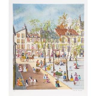 Claude Tabet, City Square 2, Lithograph