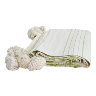 Abanja Kasba Green Throw