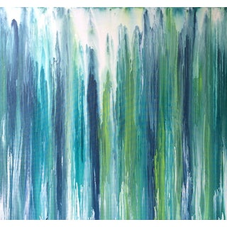 'Waterfall' Original Abstract Painting by Linnea Heide