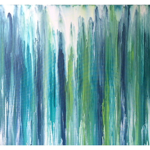 'Waterfall' Original Abstract Painting by Linnea Heide - Image 1 of 8