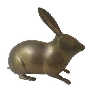 Vintage Brass Rabbit