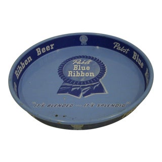 "Vintage ""Pabst Blue Ribbon Beer"" Serving Tray"