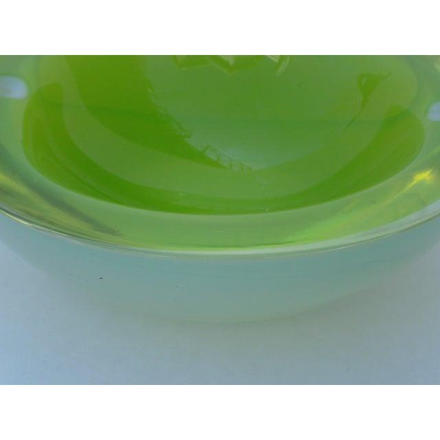 Archimede Seguso Murano Glass Geode Ashtray - Image 7 of 11