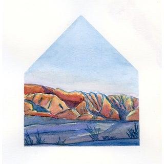 Desert Homescape No.2 Original Watercolor
