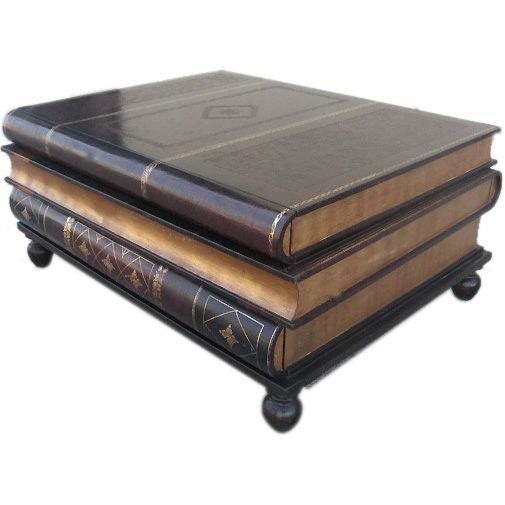 Maitland Smith Stacked Books Coffee Table Chairish