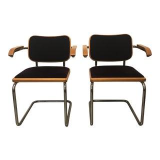 Marcel Breuer Cesca Chairs - A Pair