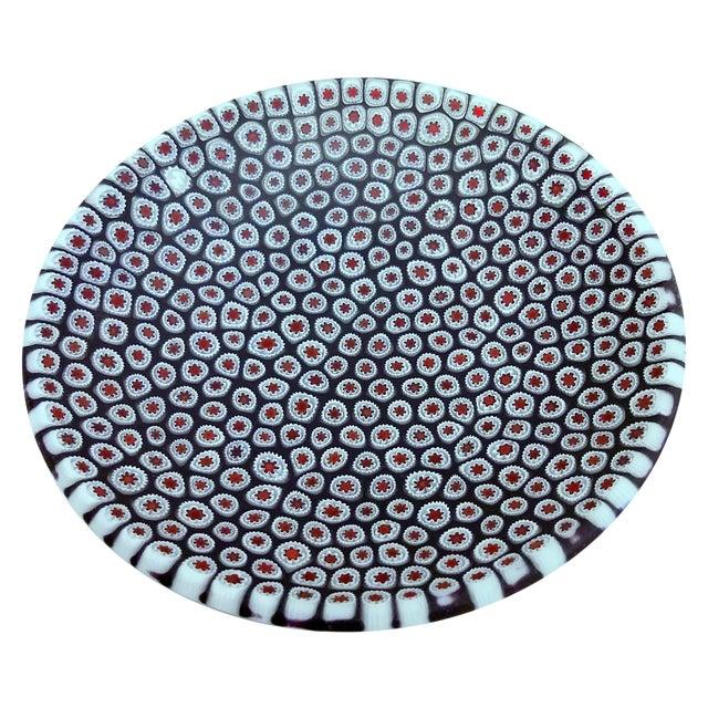 Millefiori Murrine Plate by Ercole Moretti Italy - Image 1 of 7