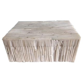 Twig Etched Bone Box