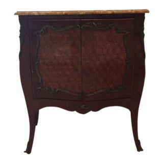 Louis XV Style Serpentine Bombe Chest
