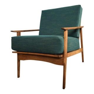 Mid-Century Modern Danish Style Lounge Arm Chair