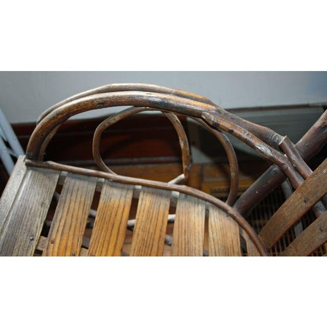 Antique Bentwood Rocking Chair Rocker Chairish