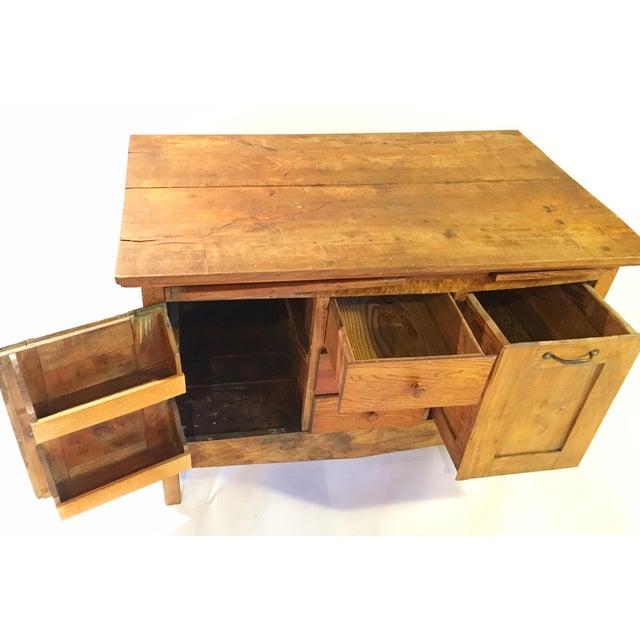 Image of Antique American Primitive Side Board