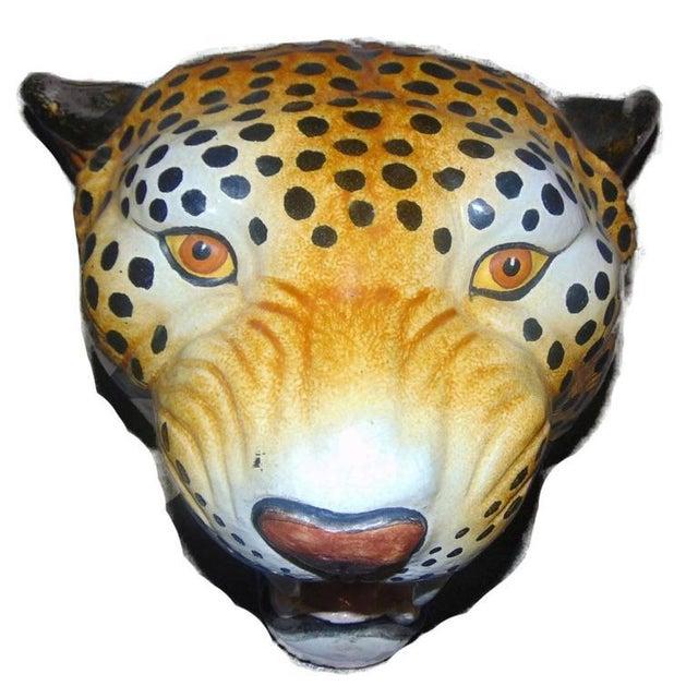 Italian Ceramic Safari Busts - Set of 3 - Image 3 of 9