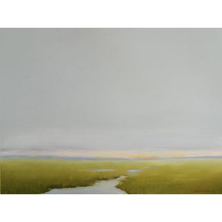 """Wetland"" Original Marsh Oil Painting by C Kenworthy"