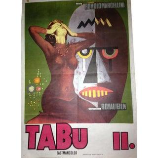 Original Vintage Yugoslavian Film Poster - Tabu II