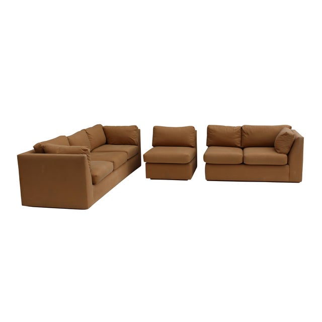 Modern 3-Piece Sectional Sofa - Image 6 of 10