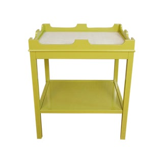 "Oomph ""Edgartown"" Side Table in Parakeet Green"