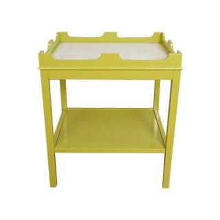 """Oomph """"Edgartown"""" Side Table in Parakeet Green"""