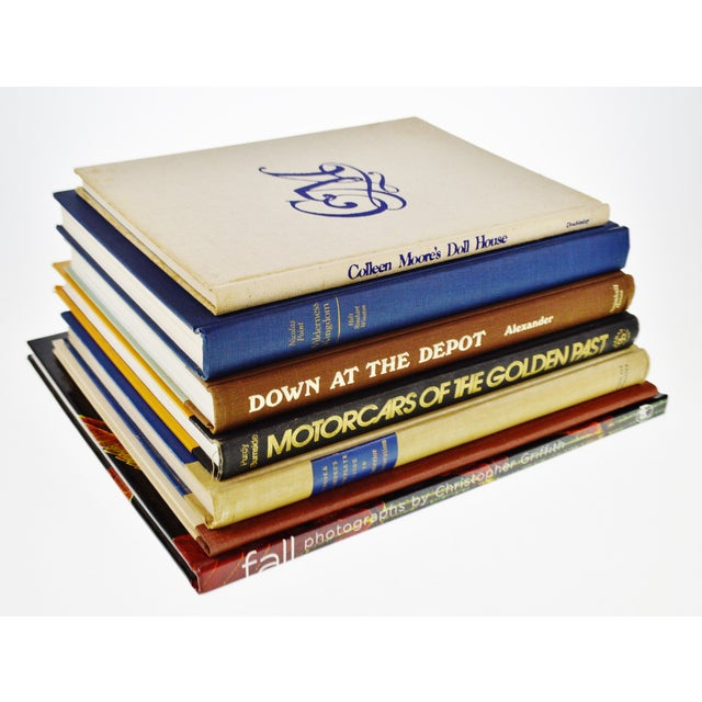 Vintage History, Art And Design Coffee Table Books