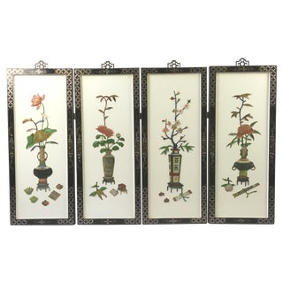 1950's Japanese Sculptural Wall Hangings - 4