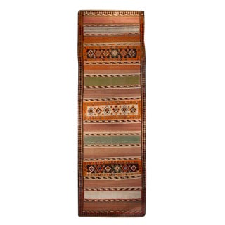 Early 20th Century Zarand Kilim Carpet