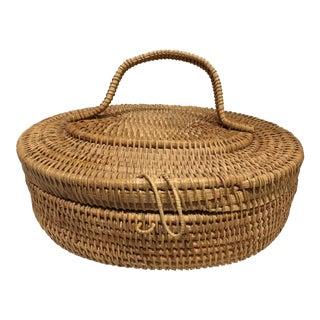 Handmade Rattan Box