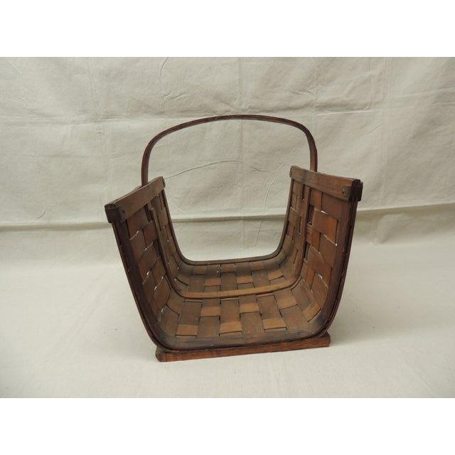 Image of Large Vintage Magazine Holder