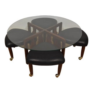 Adrian Pearsall Coffee Table & Stools - Set of 5