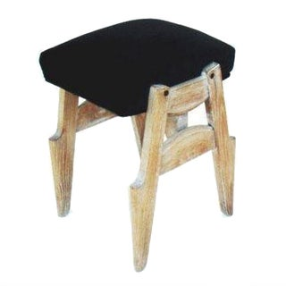 Vintage Maurice Jallot French Stool