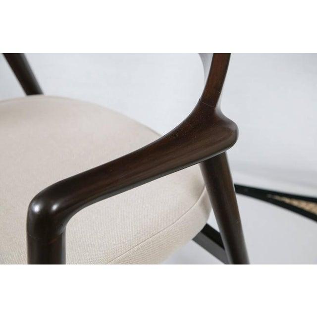 Gunlocke Wood Framed Armchair - Image 10 of 10