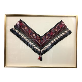 Framed Turkish Wedding Shawl