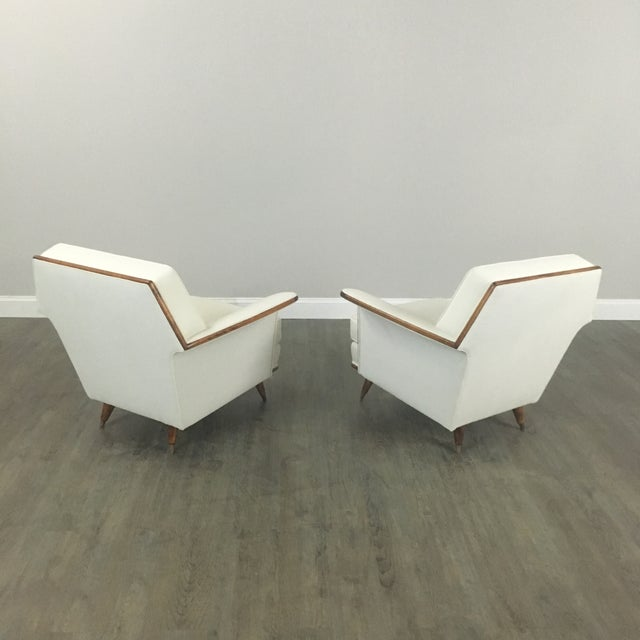 Art Deco Club Chairs - A Pair - Image 3 of 11