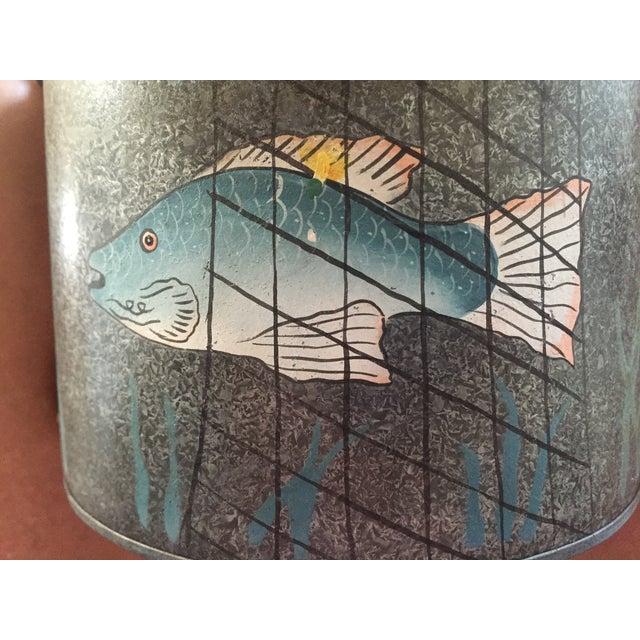 Metal Fishing Creel - Image 3 of 7
