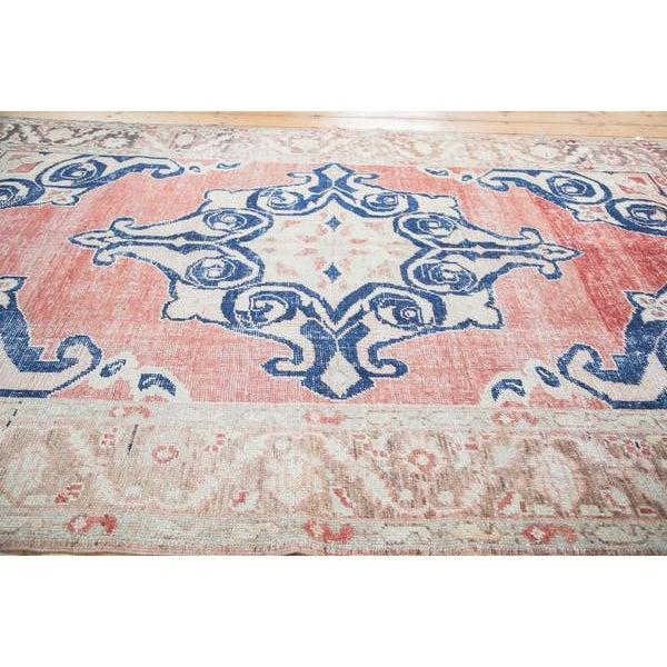 "Distressed Oushak Carpet - 6' X 9'4"" - Image 4 of 10"