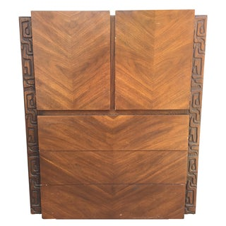 Brutalist Armoire by United Furniture