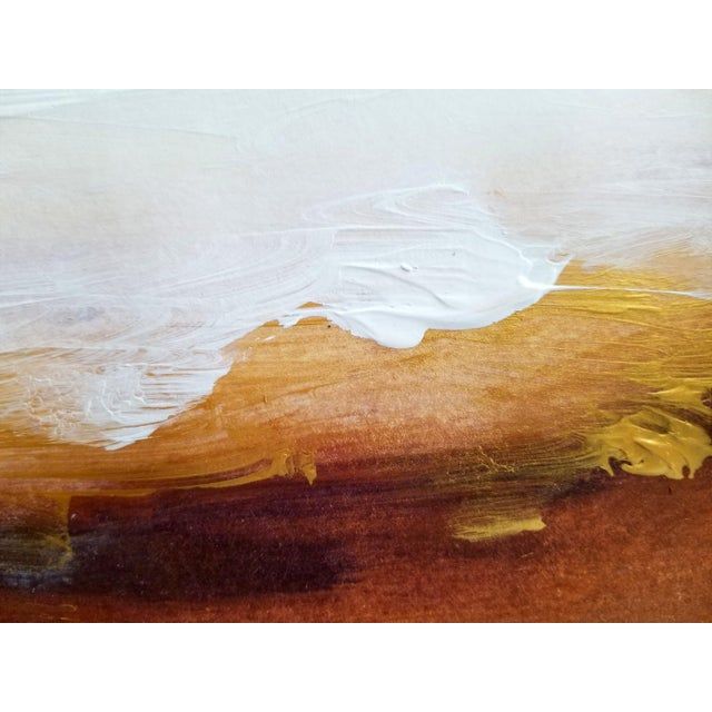 Original Abstract Landscape Painting - Image 2 of 4