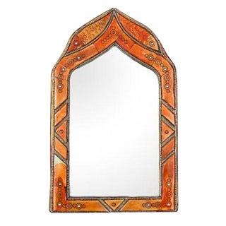 Moroccan Mirror with Circle Pattern
