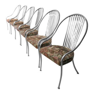 Arthur Umanoff for Shaver Howard Mid-Century Steel Chairs - Set of 6