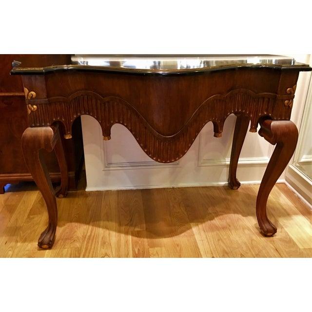 Charles Pollock Venetian Designer Console Table - Image 2 of 5