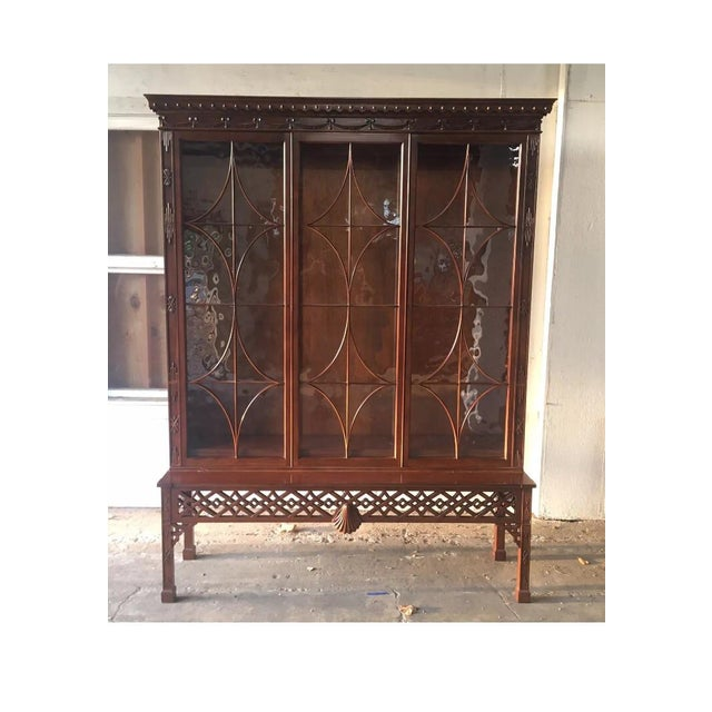 Baker Chinese Chippendale Bookcase - Image 2 of 6
