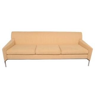 Ivory Silk Brueton Sofa