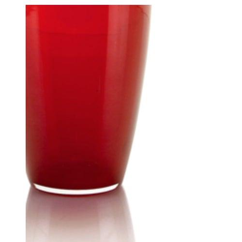 Image of John Richards Modern Red Glass Vase