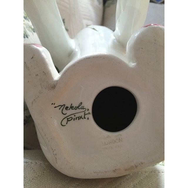 Plichta Pottery Nekola Pinxt Cat London England - Image 7 of 7