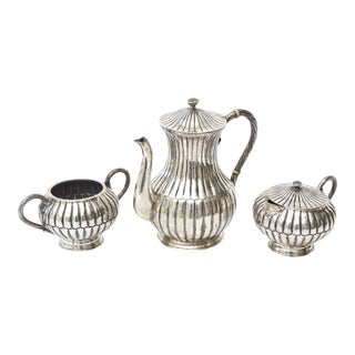 Sterling Silver Hallmarked Sanborn Tea/Coffee Service
