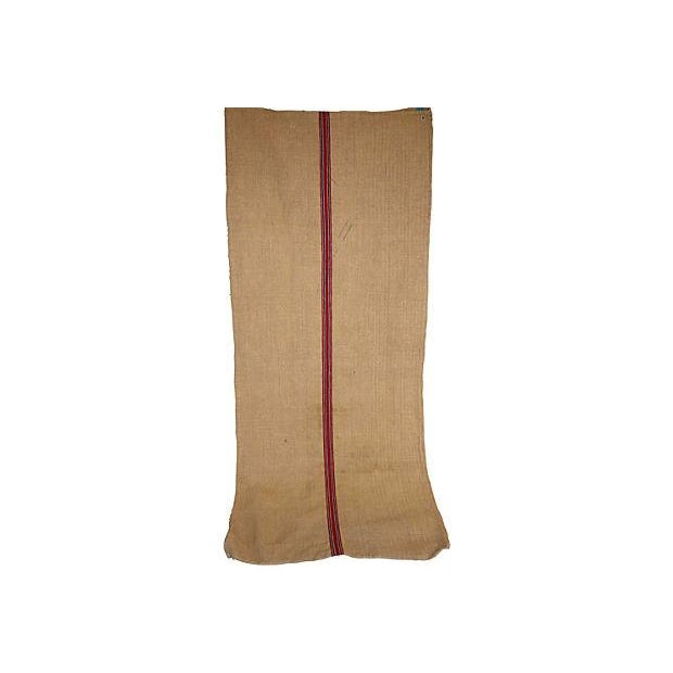 Vintage Striped European Grainsack - Image 2 of 3