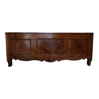 French Cherry Wood Louis XIV Coffer